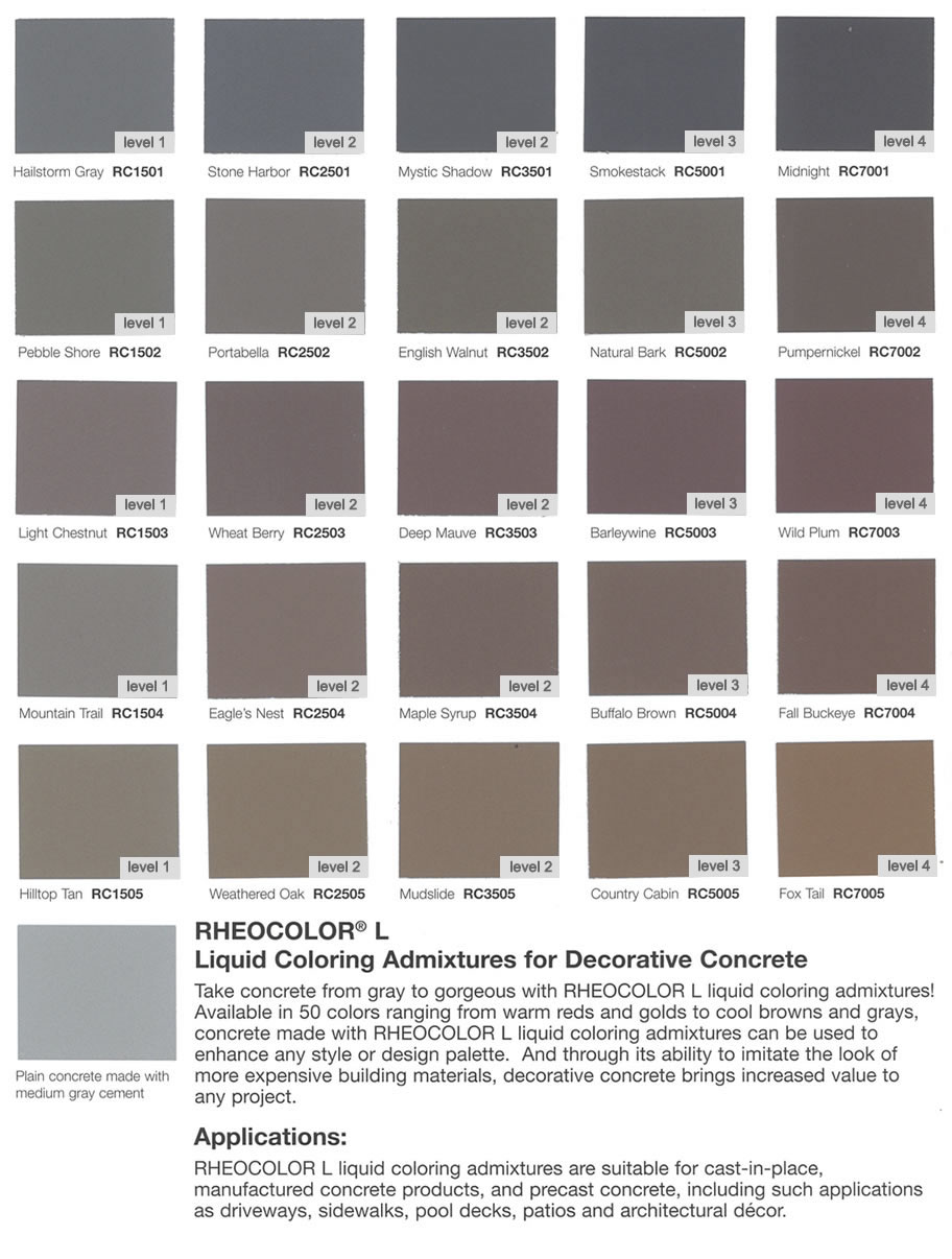 Color Options American Design